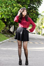 Forever-21-boots-motel-rocks-tights-oasap-sunglasses-h-m-skirt