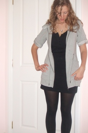 Max jacket - Jays Jays shirt - Glassons leggings - Karen Walker necklace