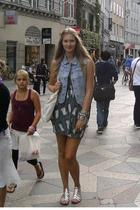 Monki vest - Topshop dress - Greece shoes - Topshop accessories - Indiska access