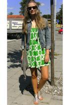 Zara dress - Crocker jacket - Greece shoes - Indiska necklace - veromoda accesso