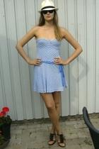 Zara dress - last summer shoes - lindex glasses - Gina hat
