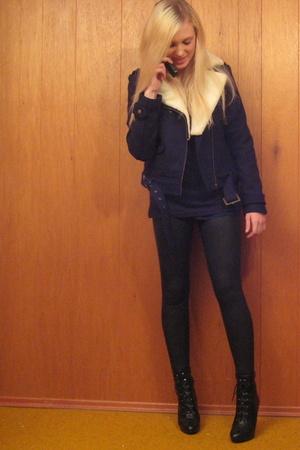 H&M jacket - shoes