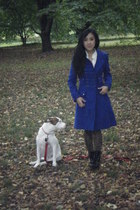 H&M tights - Jill Stuart coat - abercrombie and fitch shorts - unknown brand blo