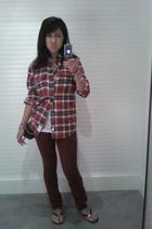 furst premium denim jeans - LF t-shirt - American Apparel top - tory burch shoes