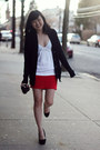 Free-endearment-purse-abercrombie-fitch-top-oasap-skirt-bakers-heels