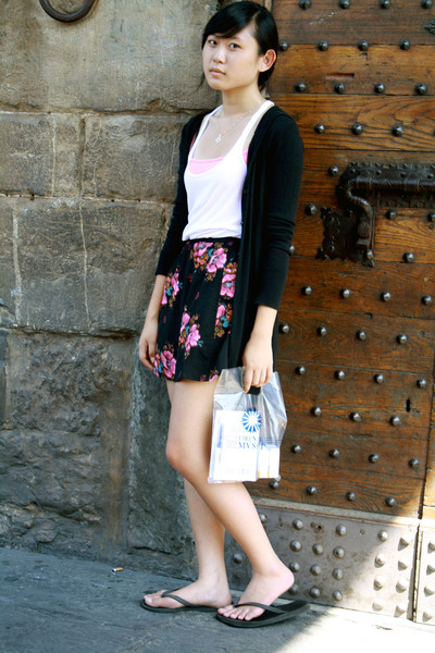 Urban Outfitters top - forever 21 top - Wet Seal skirt - Delias sweater - vatica