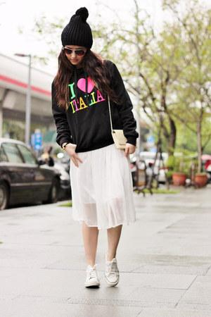 black Italy hoodie