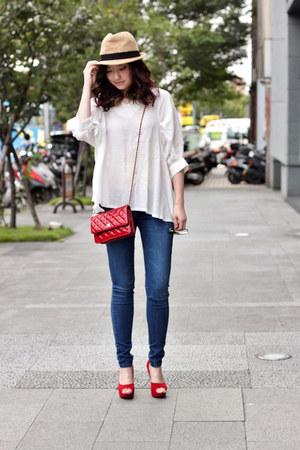 white Kate-Katy top