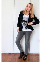 Eleven Paris top - Zara boots