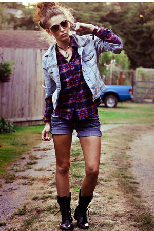 Steve Madden boots - jean jacket Old Navy jacket