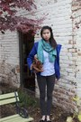 Gap-jacket-club-monaco-scarf-mulberry-bag-oxford-uniqlo-top