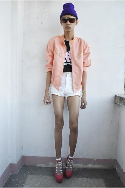 bubble gum oriental princess jacket - hot pink asianvogue shop wedges