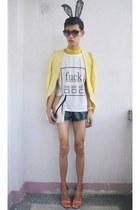 silver Gold Dot bag - hot pink Trunkshow heels