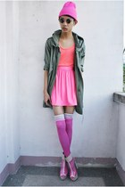 hot pink its all about hue skirt - hot pink Rebel Gear accessories