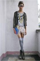Soule Phenomenon wedges - Miss Sartorial bag - Punk-x-Pretty accessories