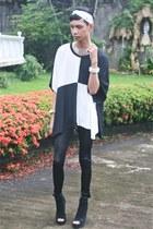 black Cecil leggings - white Punk-x-Pretty accessories