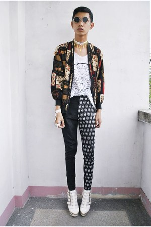 gifi clothing top - designed by kc ng pants - asianvogue shop wedges