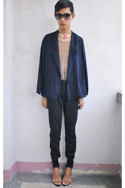 Amber blazer