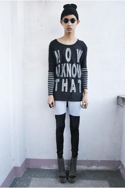 2plus sweater - zuvac leggings - Soule Phenomenon wedges