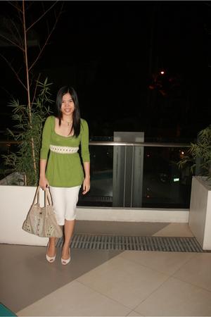 blouse - pants - purse - shoes - accessories