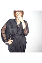 vintage blouse - theheyheyhey dress - guangzhou accessories - guangzhou accessor