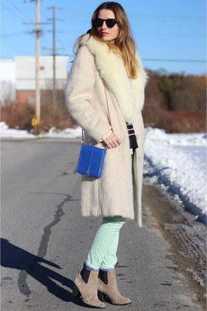 aquamarine pastel skinny blank nyc jeans