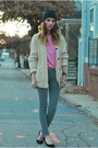 Heather-gray-skinny-paige-denim-jeans-bubble-gum-joie-sweater