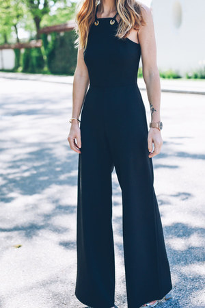 black jumpsuit Express romper