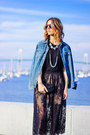 Blue-denim-jcrew-shirt-black-lace-forever-21-skirt