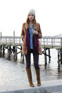 Olive-green-suede-michael-kors-boots-purple-coated-skinny-paige-jeans