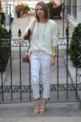White-distressed-paige-denim-jeans-white-knit-chicwish-sweater