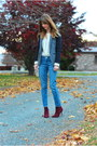 Maroon-ankle-boots-steven-boots-blue-boyfriend-goldsign-jeans
