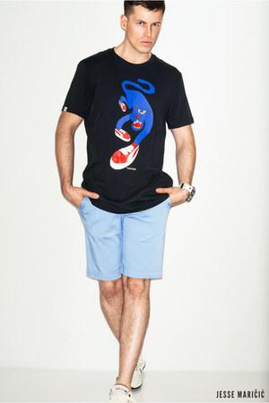 blue blue Puma shirt