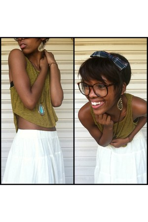 Urban Outfitters top - Forever 21 skirt