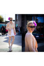 Bubble-gum-h-m-blazer-black-zerouv-sunglasses-ivory-foxtale-designs-skirt