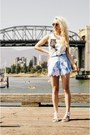 Light-blue-black-milk-clothing-shorts-silver-miista-sandals