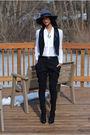 Black-forever-21-vest-black-bcbg-pants