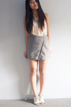 Topshop skirt - Nine West shoes