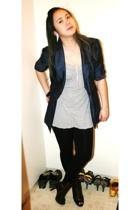 INC blazer - garage top - roberto vianni shoes