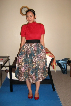 H&M skirt - Aldo shoes - H&M accessories - accessories