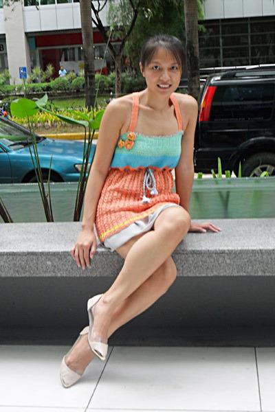 crochet DIY dress