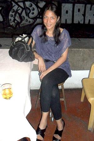 River Island bag - Prima Donna heels