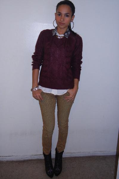 Steve Madden boots - H&M sweater