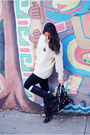 Silver-ring-black-dolce-vita-boots-off-white-sweater