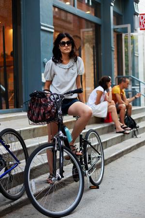chic à bicyclette