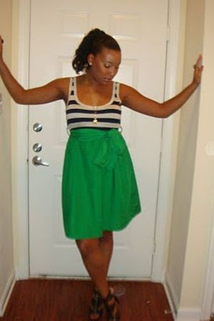 green lulus dress