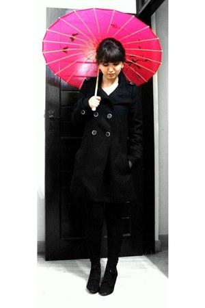 Zara boots - Zara coat