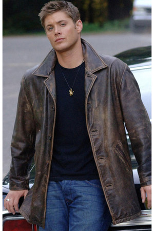 leather Dean Winchester Supernatural Jacket jacket