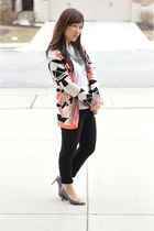 Love by Design cardigan - Zara shirt - asos bag - H&M pants