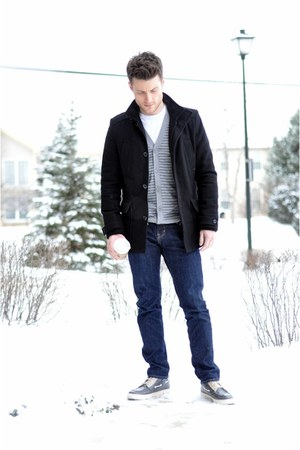 Zara coat - Ralph Lauren Polo shoes - skinny Old Navy jeans
